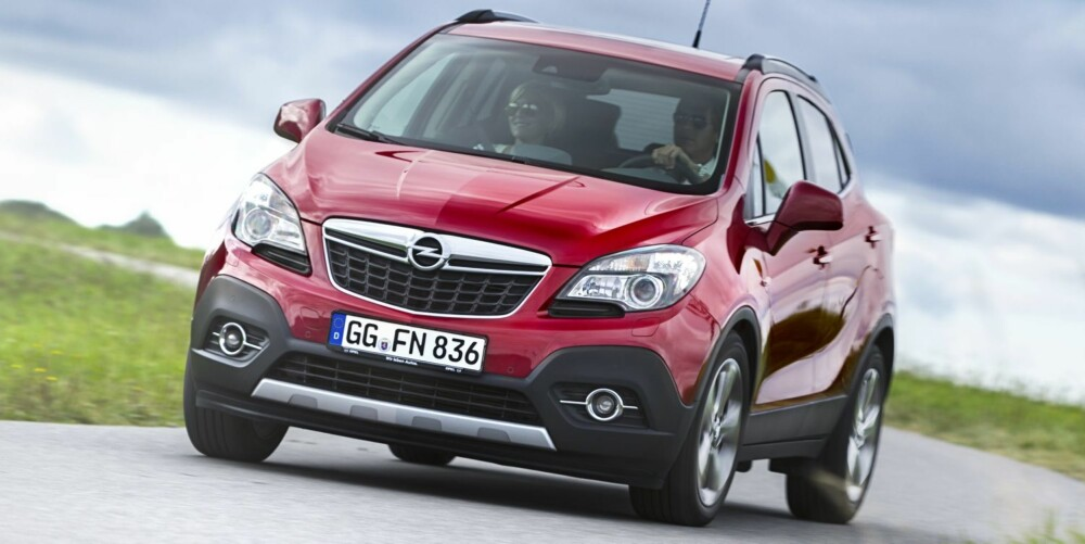 NOMINERT: Opel Mokka. FOTO: GM