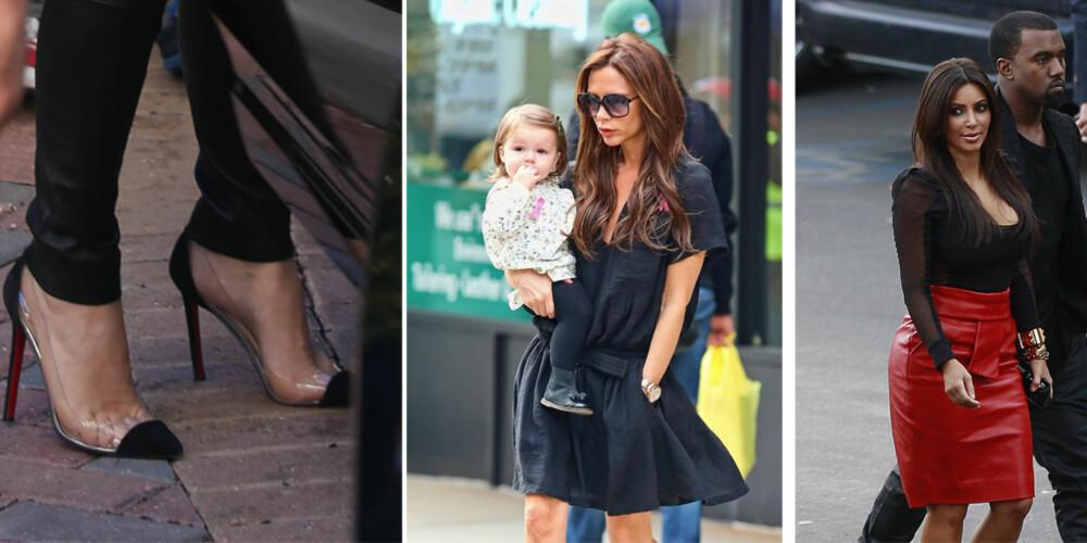 KLER SEG FOR ANDRE KVINNER: Det er slett ikke sikkert at Victoria Beckham og Kim Kardashian kler seg for å imponere sine kjekke kjærester. Oddsen er mye større for at de vil se bra ut for sine horder av kvinnelige fans.