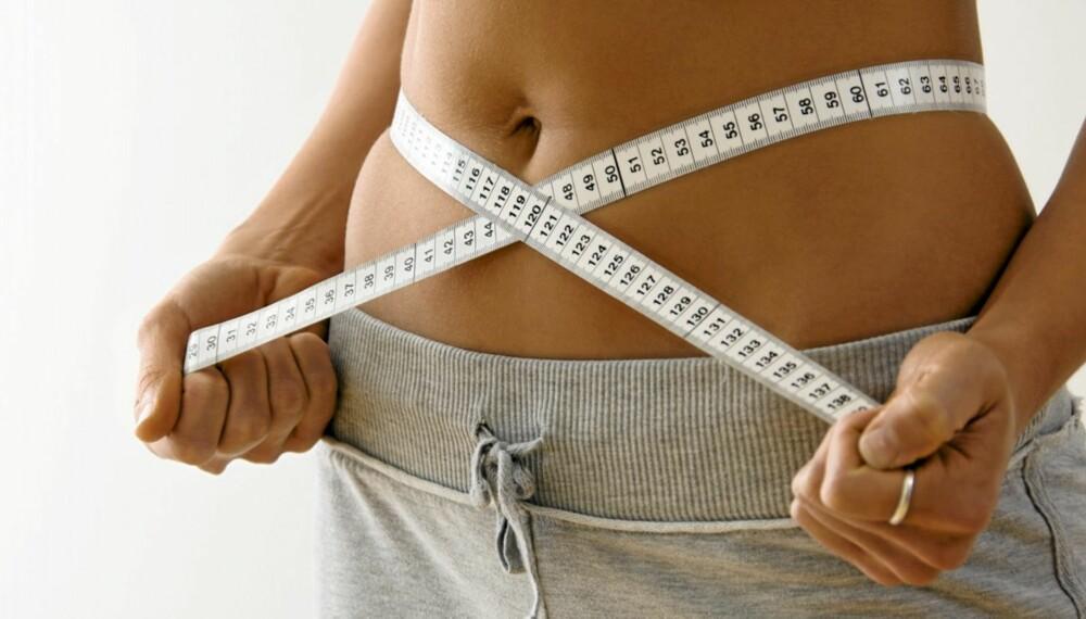 STRAM MAGE: Trener du magen riktig, vil du merke at midjemålet går innover overraskende fort.