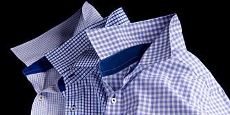 SKREDDERSYDD: Design og bestill skreddersydde skjorter på nettet.