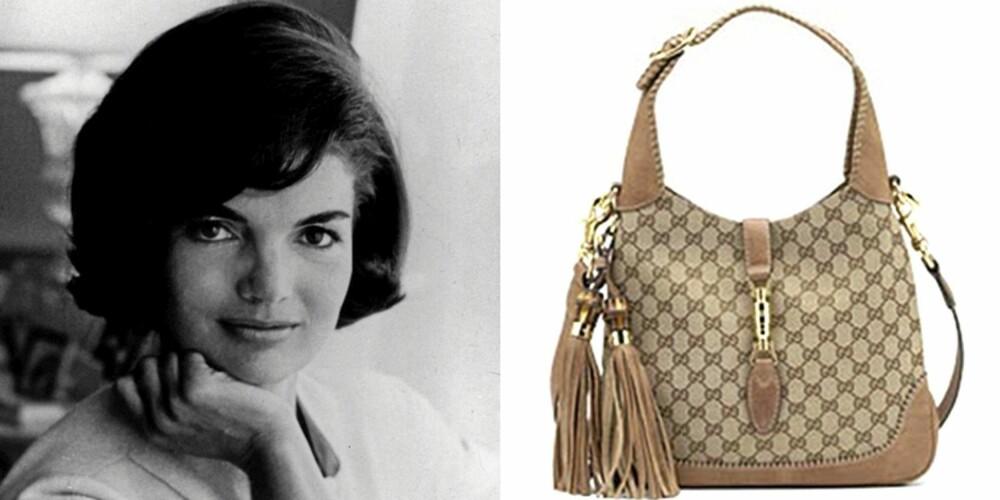 GUCCI JACKIE: Førstedamen brukte vesken så flittig at den ble oppkalt etter  henne.
