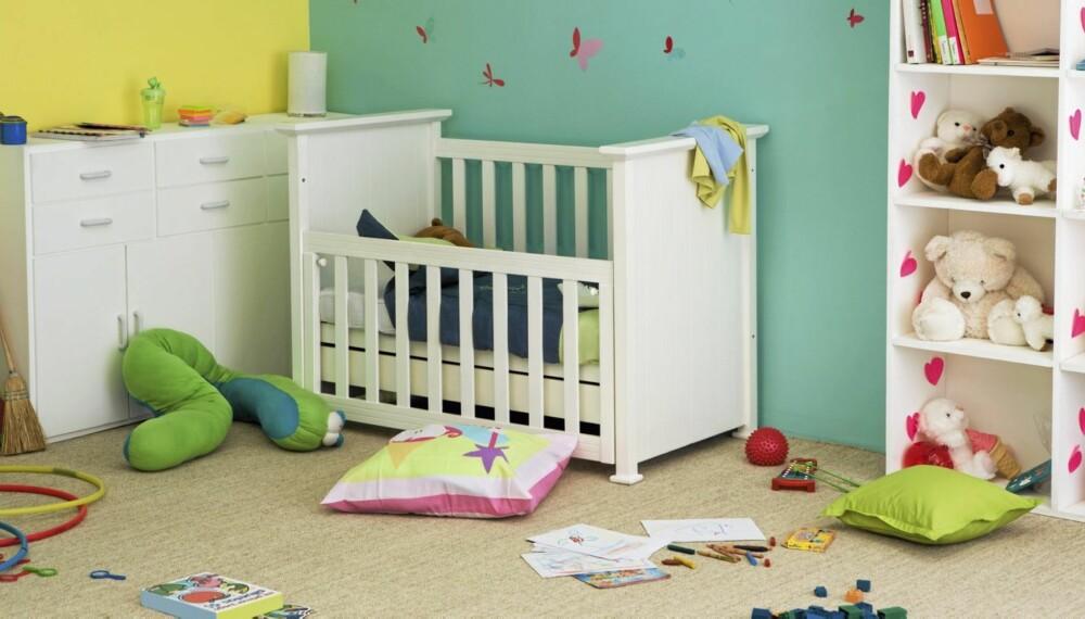 Barna trenger rutiner og systemer. Finn et system som passer i ditt hjem. Foto: Colourbox.no