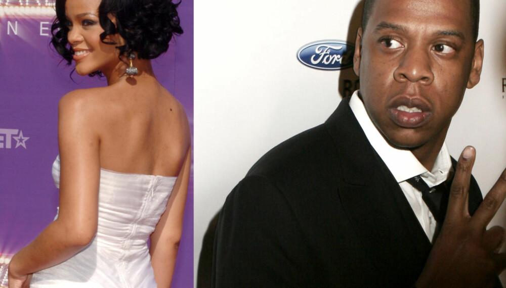 Rihanna og Jay Z