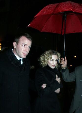 Madonna og Guy Ritchie