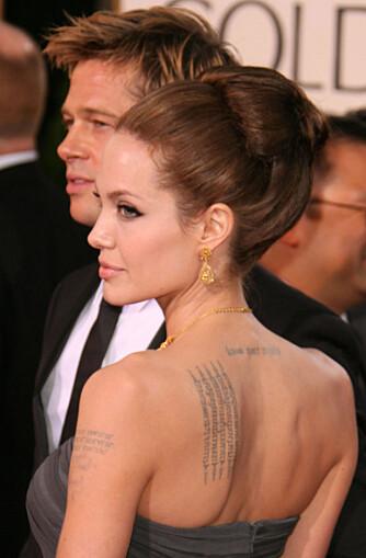 Angelina Jolie og Brad Pitt kommer. (Foto: WireImage/All Over)