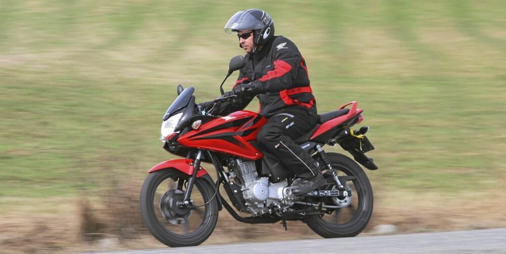 OVERBEVISER: CBF er en stabil sykkel med inspirerende veiegenskaper.