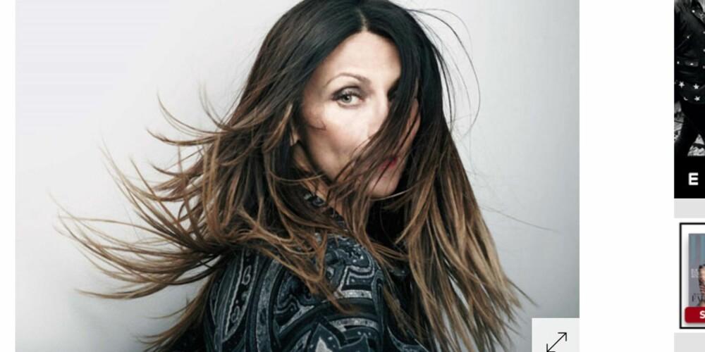 VASKET IKKE HÅRET PÅ SEKS UKER: Journalist i W Magazine, Christa D'Souza , unngikk hårvasken i seks uker. Her ser du etter-bildet.