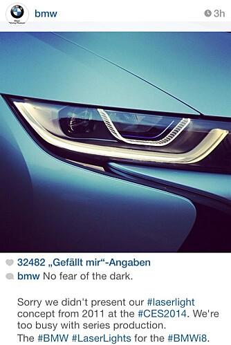 ERTER: BMWs tweet-stikk til Audi.