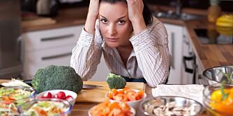 GRØNNE TIDER: Ernæringsekspertene Shape Up har snakket med forteller at vegetarianere må være ekstra påpasselig med eget vegetariske kosthold.