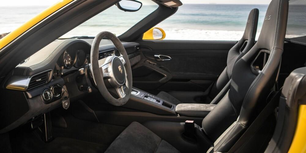 PORSCHE: Vi ville også valgt kabrioleten, ufornuftig nok. FOTO: Porsche