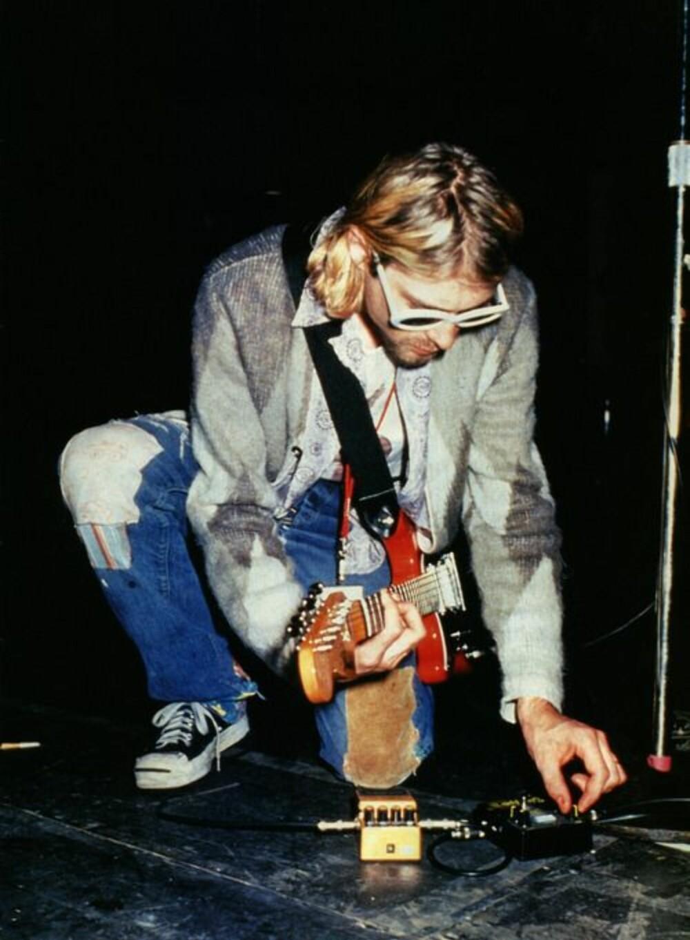 Kurt Cobain har gjort sitt for å gjøre Converse-skoene til en legende innen stil- og motebildet.