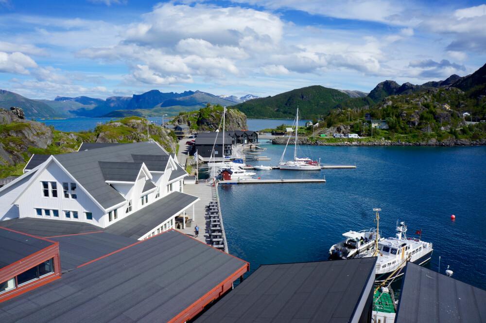SJØ-EVENTYR: Senja Hamn er et idyllisk midtpunkt for utallige maritime aktiviteter. FOTO: Geir Svardal