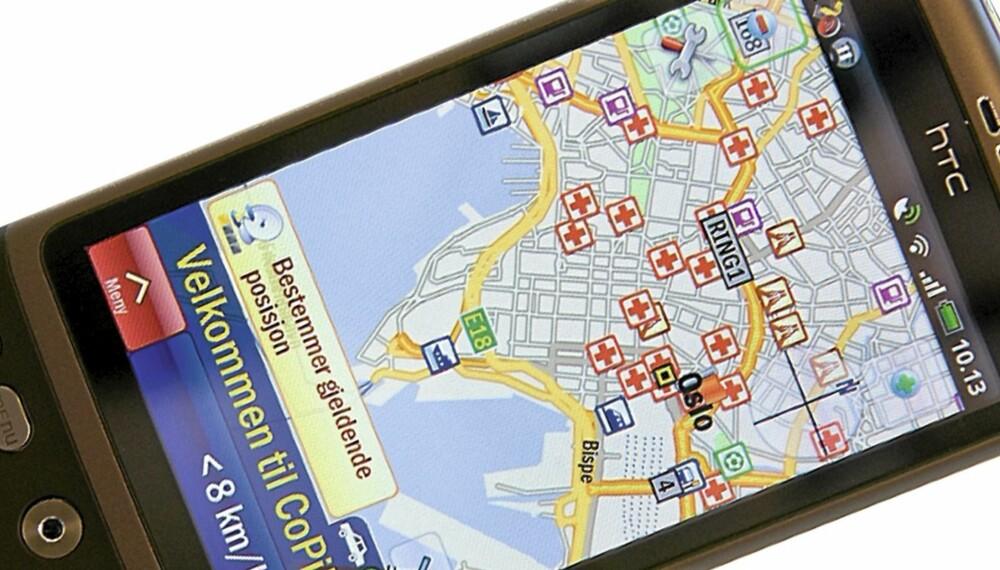 GOD: Navigasjonsprogrammet CoPilot Live 8 gjør mobilen din om til en solid GPS-navigatør.