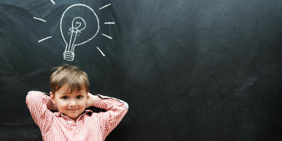 EVNERIKE BARN: Mistenker du at barnet ditt er høyt intelligent? Her er sjekklisten på at barnet er smart.