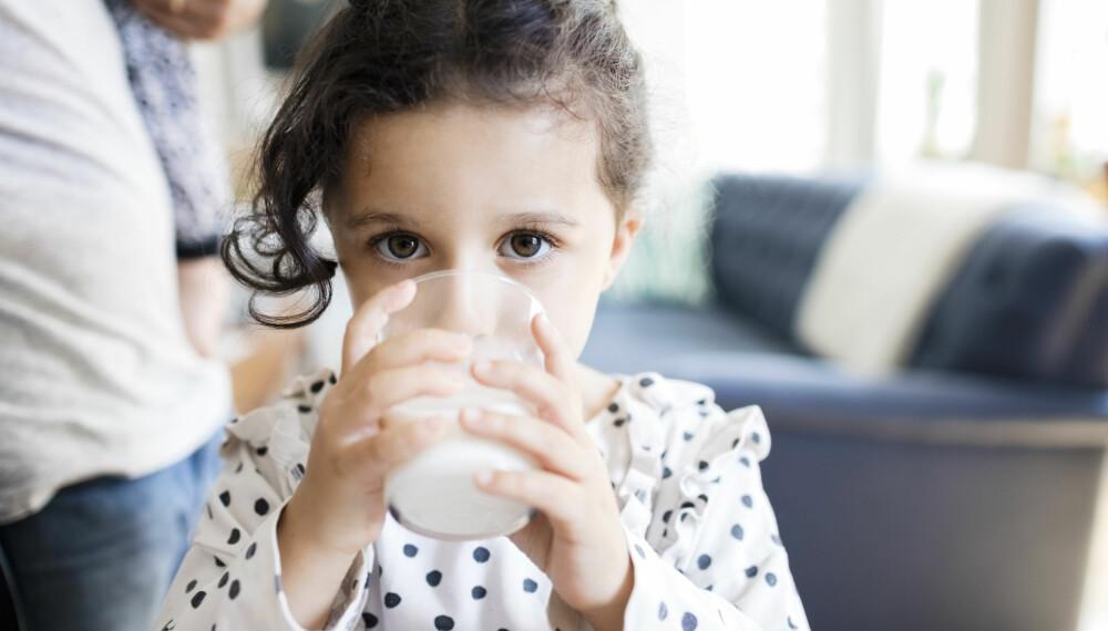 MELKEALLERGI HOS BARN: Man kan ha melkeproteinallergi, melkeproteinintoleranse eller laktoseintoleranse. Mange forveksler imidlertid disse begrepene om hverandre. Foto: Gettyimages.com.