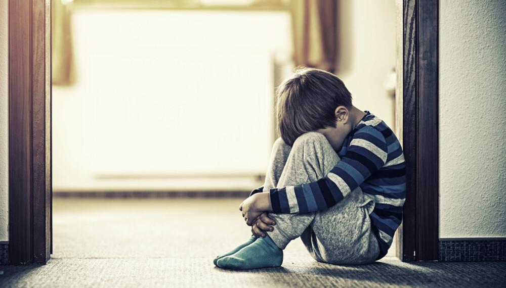 VOLD MOT BARN: Foreldre som selv har blitt utsatt for vold, overgrep og krenkelser som barn, kan bli trigget av barns naturlige utvikling. Foto: Gettyimages.com.