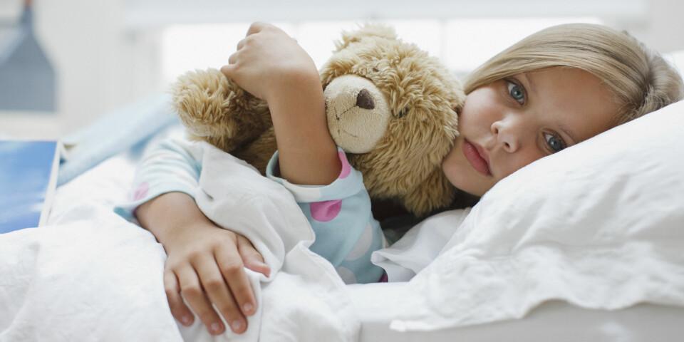 SENGEVÆTING: Cirka 10 prosent av barn sliter med at de tisser i sengen om natten når de starter på skolen. Det er kun allergi som er mer utbredt enn sengevæting.