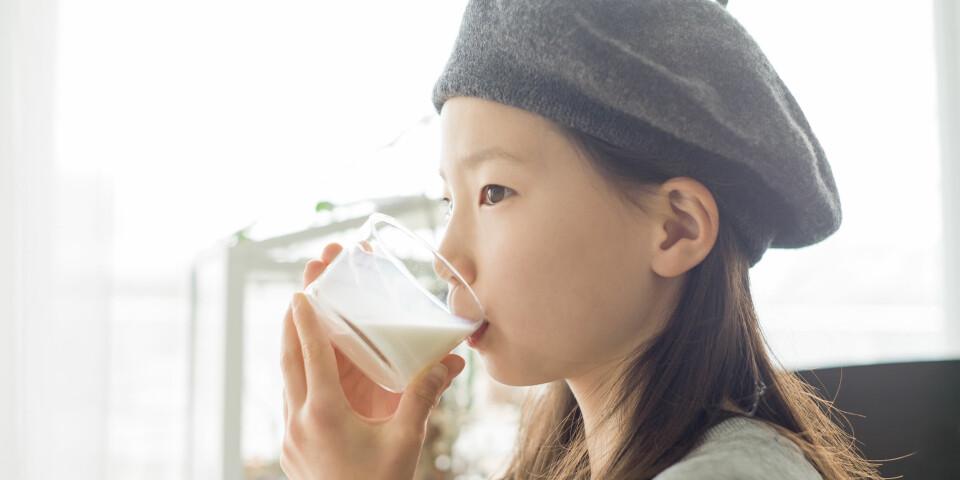 BARN MED MATALLERGI: Noen mattyper er vanligere å reagere på hos andre, men matallergi hos barn kan være vanskelig å oppdage. FOTO: Getty Images.