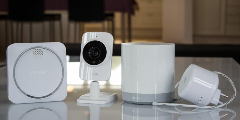 SMART: D-Link kaster seg på smarthusbølgen med en sikkerhetsfokusert smarthuspakke
