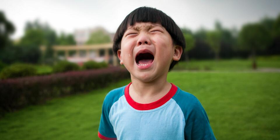 SINTE BARN: Raserianfall, sinte barn og fysisk aggressive barn kan være vanskelig å takle. Her får du tipsene.