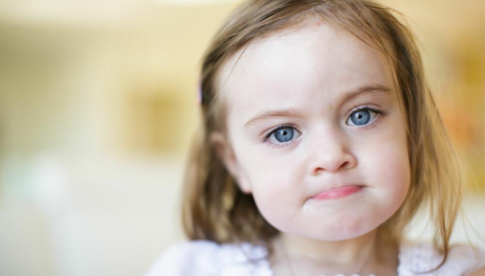 BARN SOM BITER: Biter barnet ditt? Enten om barnet biter en voksen, andre barn eller biter i barnehagen, kan det gjøres noe med situasjonen.