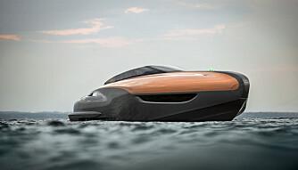 FORM OVER FUNKSJON: Kun de aller modigste begir seg ut på dekk i sjøgang. Men så er dette en båt som først og fremst skal ligge med hekken inn i yachthavna. (FOTO: Lexus)