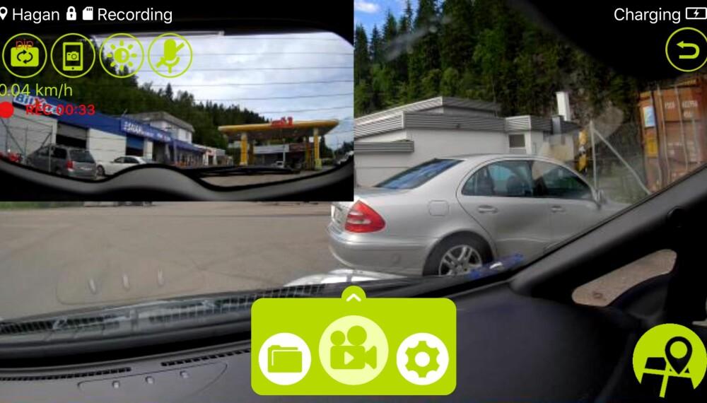 APP: Dette er et skjermbilde fra appen DOD Cam.