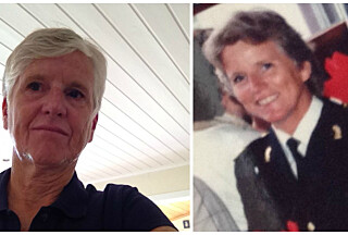 RUTH NORENG: I dag og da hun jobbet ved Politihøgskolen på midten av 90-tallet.