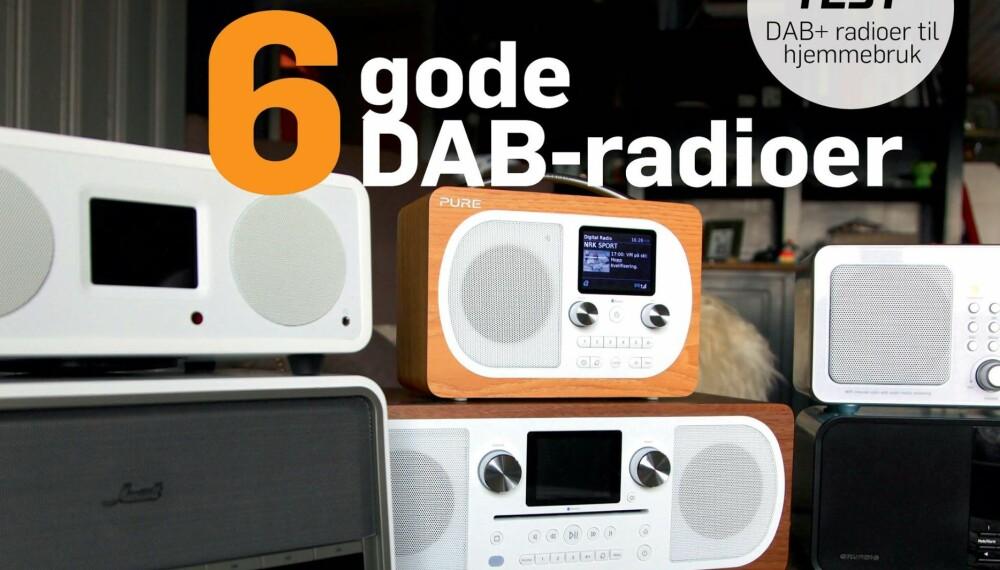 I SALG NÅ: Aprilutgaven av HjemmePC er i salg nå. Stor test av DAB-radioer.