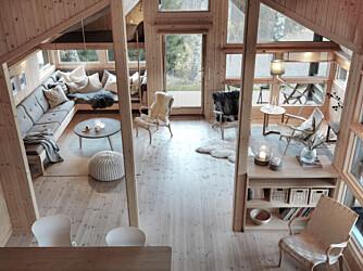 MODERNE: Norsk design, enklere design, bærekraftige produkter og kvalitet er stikkord som beskriver den nye hyttetrenden godt