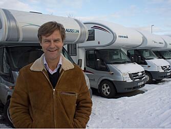 PRESS DIESELEN UT SAMME VEI: Jan Erik Høgli, tidligere bobilutleier.