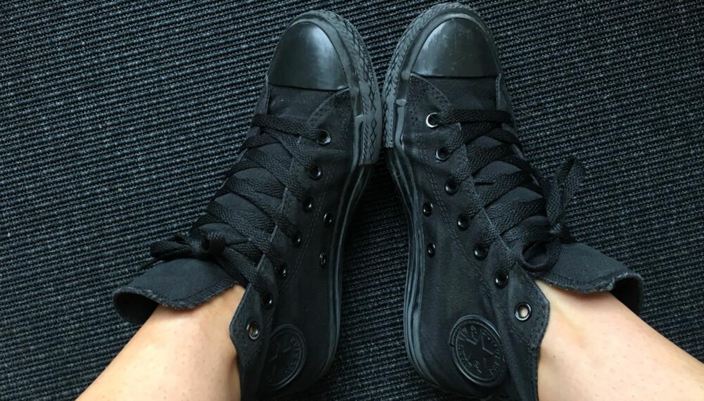 QUACK-QUACK: Knirker skoene dine? Det kan heldigvis gjøres noe med! FOTO: Jenny Mina Rødahl