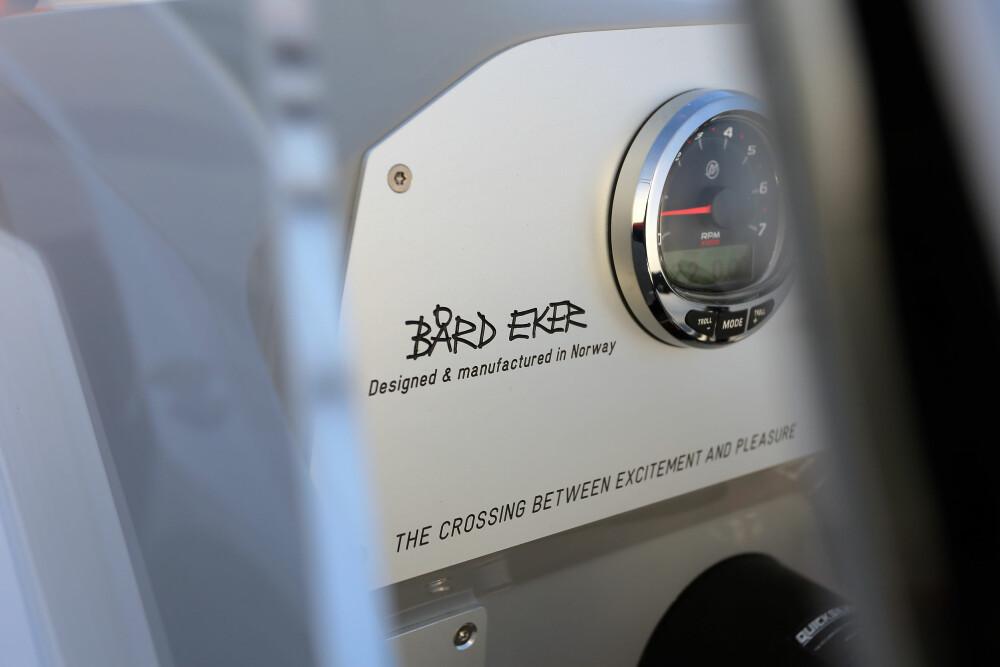 SIGNATUR: De siste årene har Hydrolift produsert fritidsbåter for de få. Med X-22 kan flere få Bårds signatur på dashbordet.