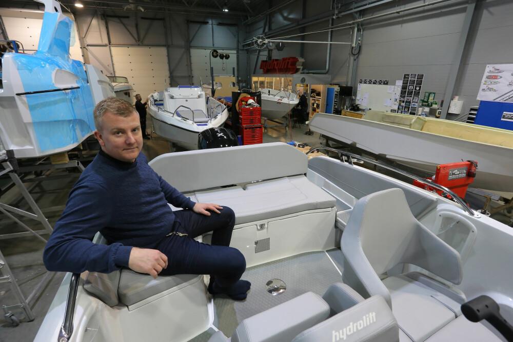 VIL BYGGE I NORGE: Prosjektleder Anders Vongraven Krogh er fornøyd med produksjonsopplegget så langt.