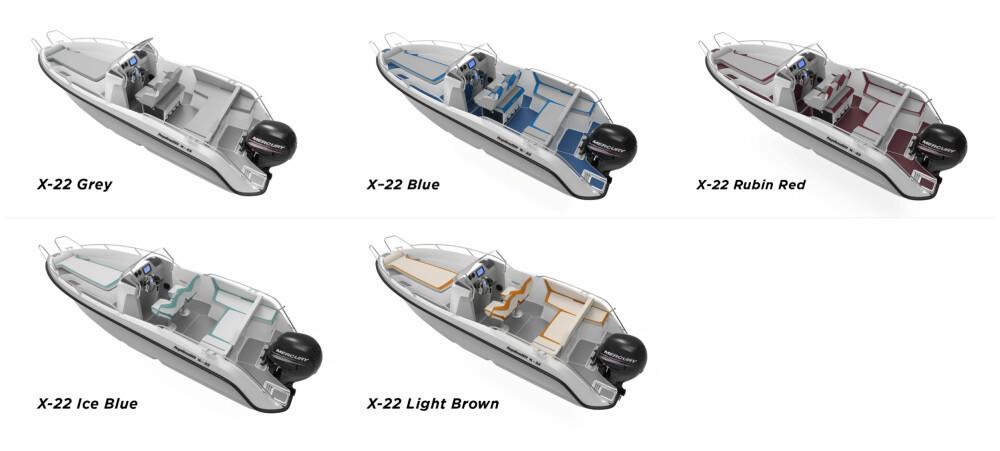 INDIVIDUELL: Du kan velge mellom fem ulike farger på innredning, dekor og dørk.