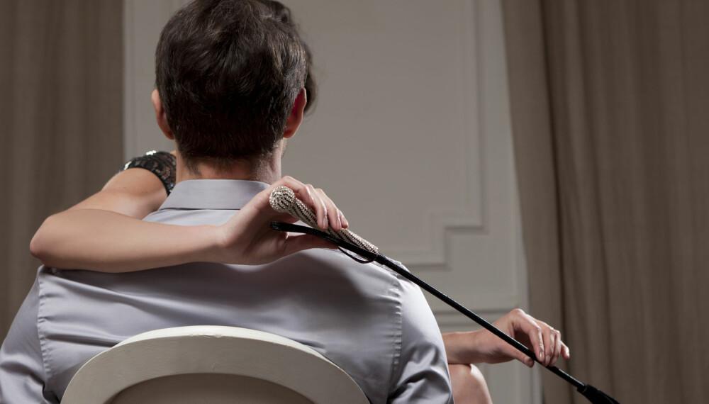 SADISME: En lekesituasjon der smerte er involvert krever oppmerksomhet og inntoning fra sadistens side. Foto: Gettyimages.com.