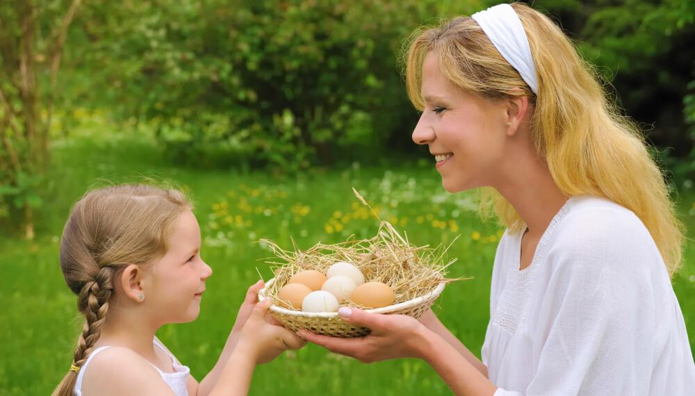 BRA KILDE: Egg bidrar med viktige proteiner til kroppen din.