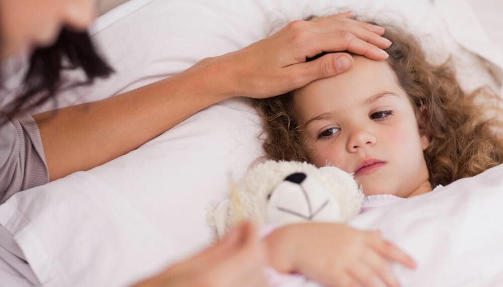 FEBERFANTASIER HOS BARN: Ved høy feber kan barn oppleve feberfantasier og hallusinasjoner, og vanligvis er det helt ufarlig. Foto: Gettyimages.com.