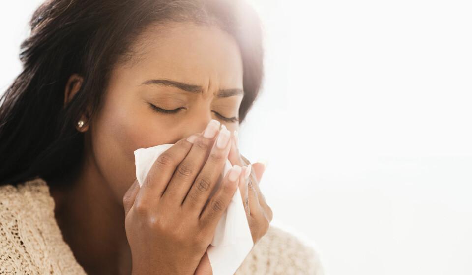 BLI KVITT FORKJØLELSE: Ekspertene har 8 råd til deg som vil bli kvitt forkjølelsen. Foto: Gettyimages.com.