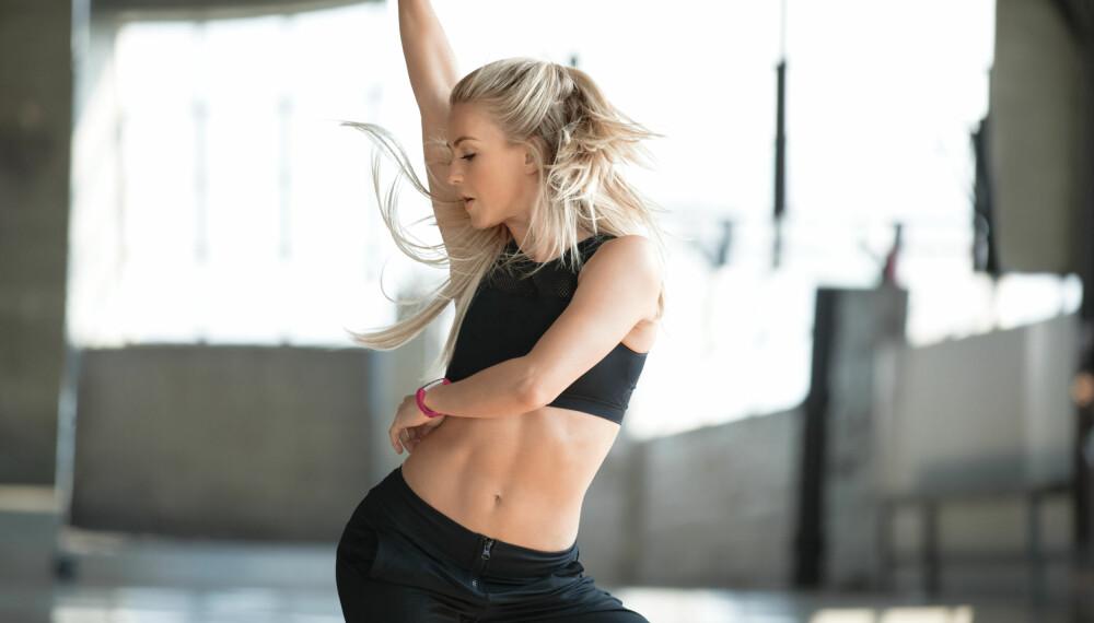 AKTIVITET: Fitbit Alta HR kan automatisk logge enkelte fysiske aktiviteter inkludert løping, sykling og andre fysiske aktiviteter som dans, zumba eller tilsvarende.