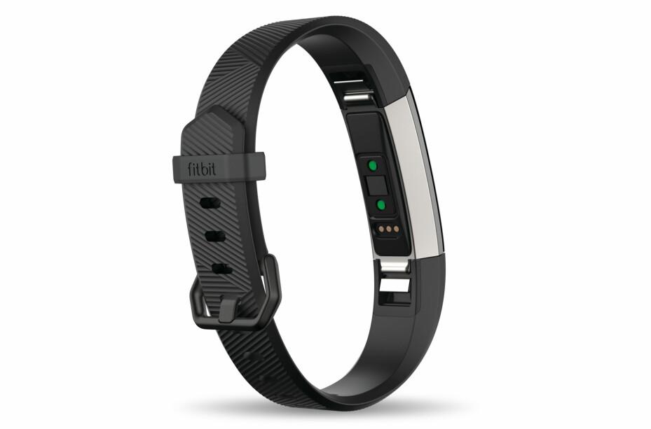 PULSMÅLER: Til tross for en beskjeden størrelse, har Fitbit klart å skvise inn en pulsmåler og syv dagers batterilevetid i Fitbit Alta HR.