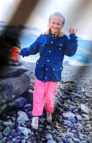PÅ FJELLTUR: Birgit og familien var ofte på fjelltur. FOTO: Privat.