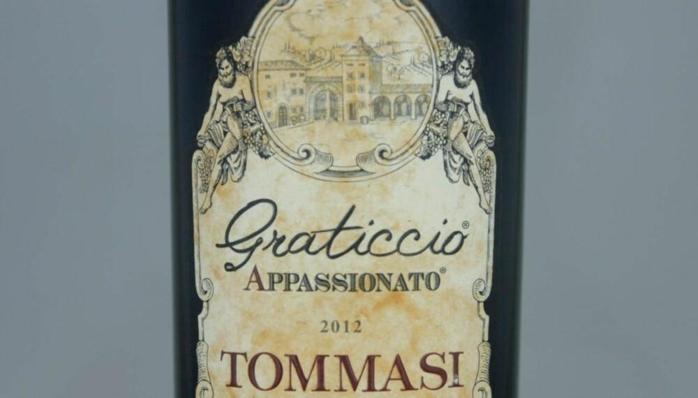 POPULÆR: Tommasi Graticcio Appassionato 2012.