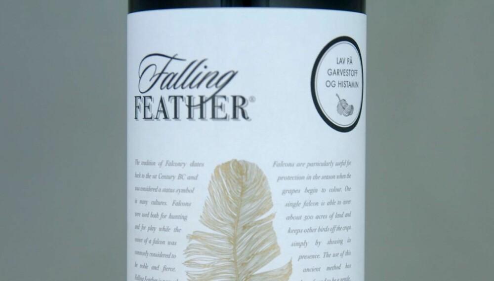 POPULÆR: Falling Feather Ruby Cabernet.