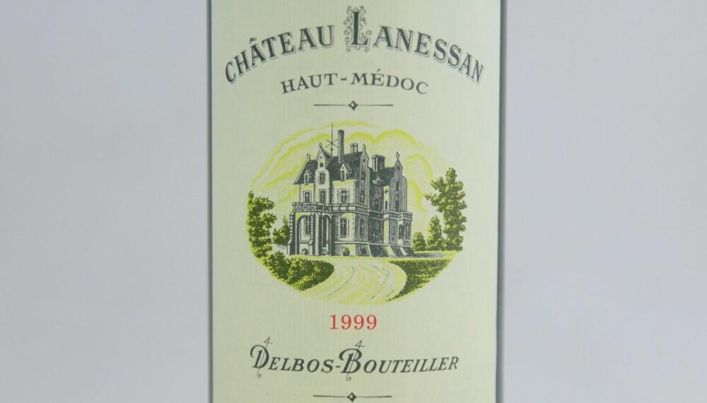 LAMMEVIN: Ch. Lanessan 1999.