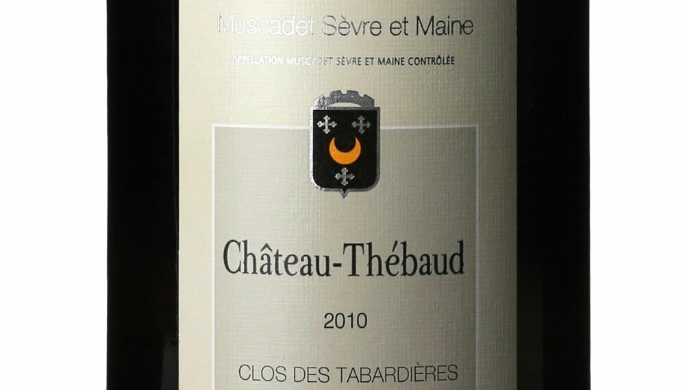 GODT KJØP: Poiron Dabin Ch. Thébaud Muscadet Sèvre et Maine Clos des Tabardières 2010.