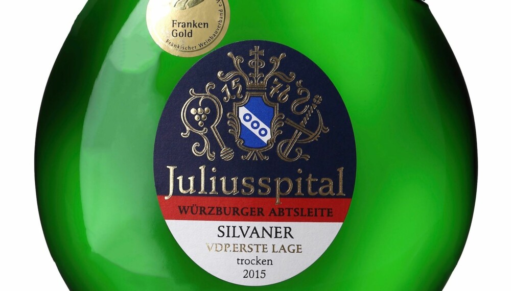 GODT KJØP: Juliusspital Würzburger Abstleite Silvaner Trocken Erste Lage 2015.