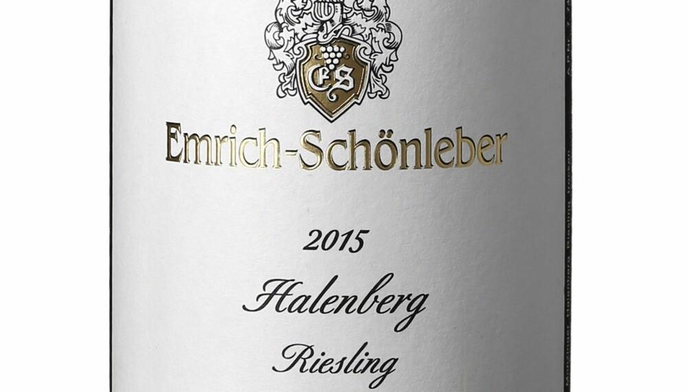 GODT KJØP: Emrich-Schönleber Halenberg Riesling GG 2015.
