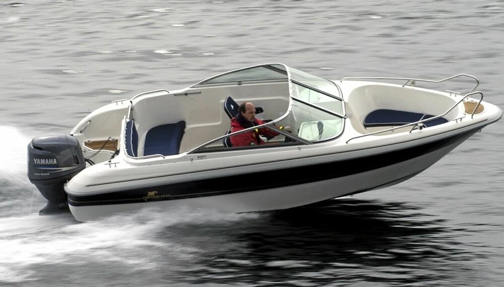 ALT I ETT: Yamarin 5820 er en ettertraktet bruktbåt. Lun og samtidig praktisk.