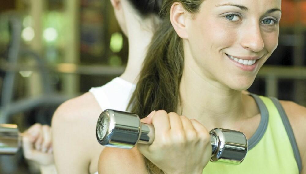 STYRKE: Å bevare styrke i musklene er en av nøklene til å holde seg ung og i god, fysisk form.